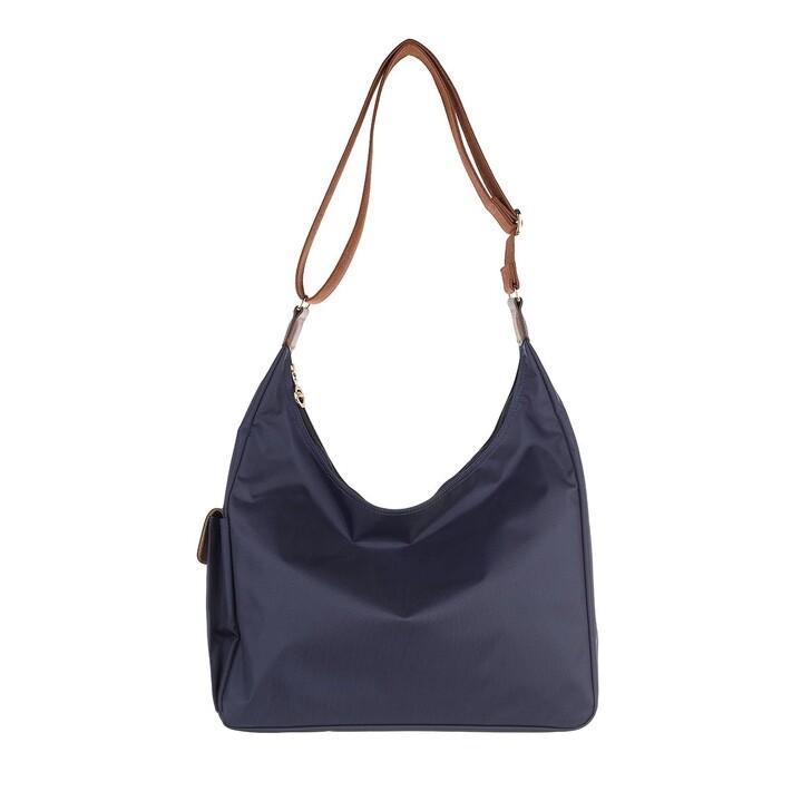 bags, Longchamp, Le Pliage Original Shoulder Bag   Navy