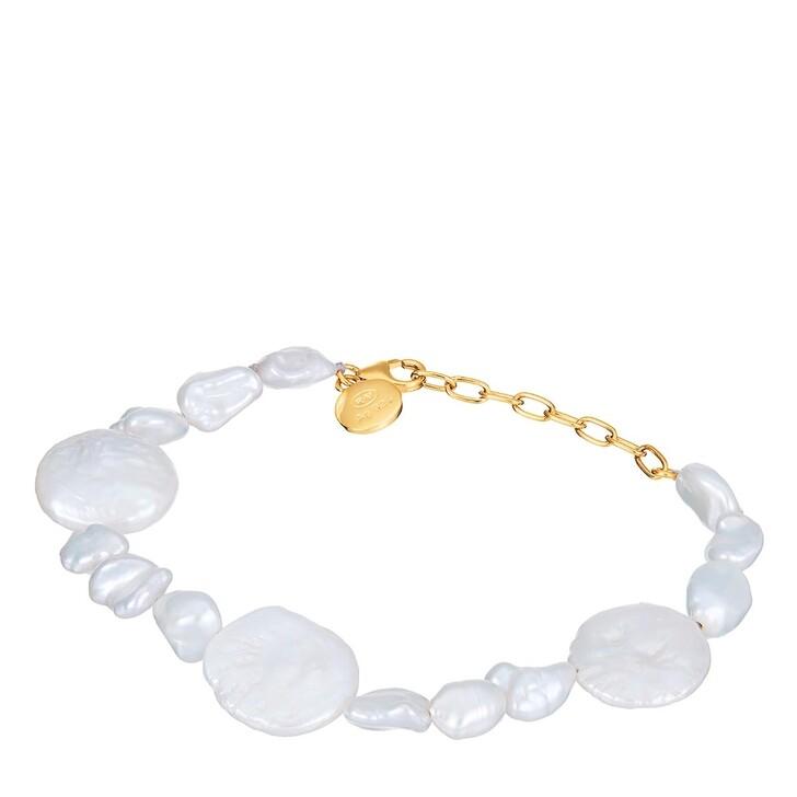 bracelets, BELORO, Bracelet Pearls Yellow Gold