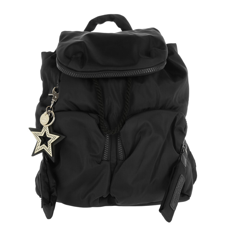 Reisetasche, See By Chloé, Medium Joy Rider Backpack Black