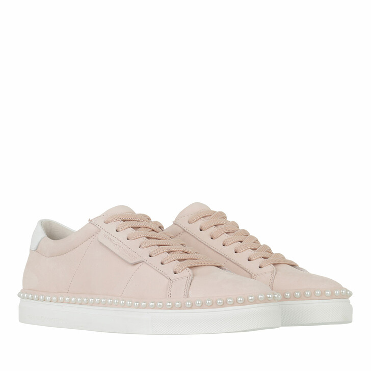 shoes, Kennel & Schmenger, Cosmo pearl Sneaker Leather Baby Rose