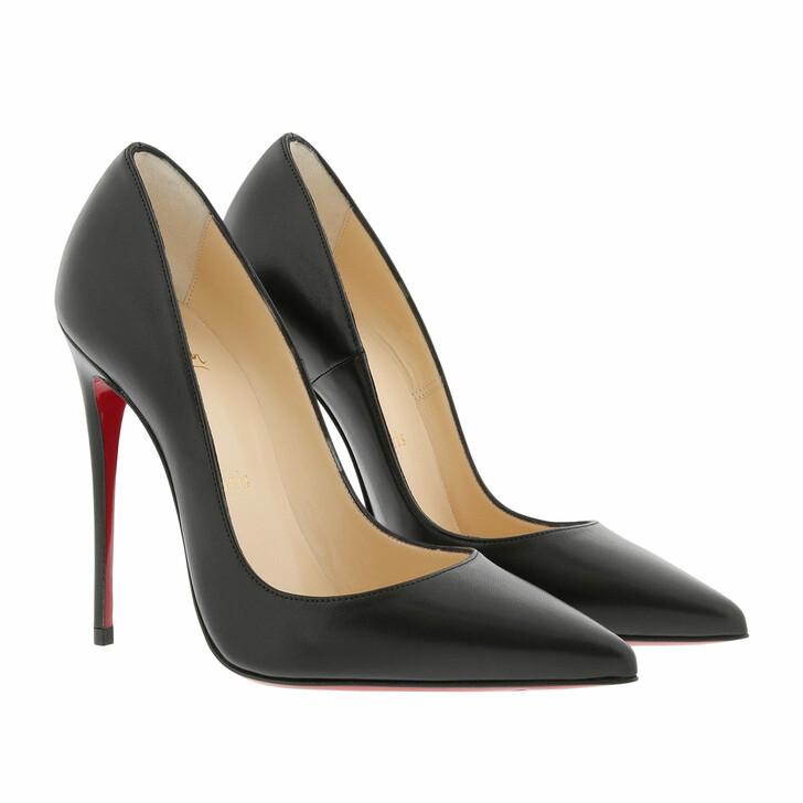 shoes, Christian Louboutin, So Kate 120 Shiny Nappa Leather Black