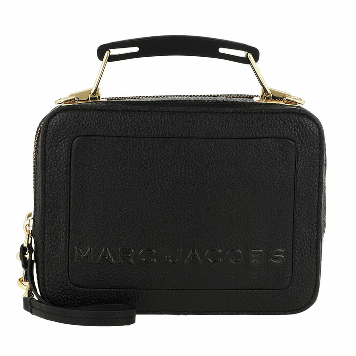 Handtasche, Marc Jacobs, The Box 20 Shoulder Bag Leather Black