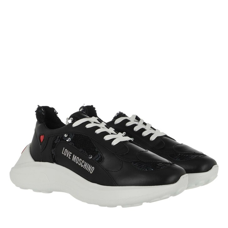 shoes, Love Moschino, Sneaker Running Multicolor