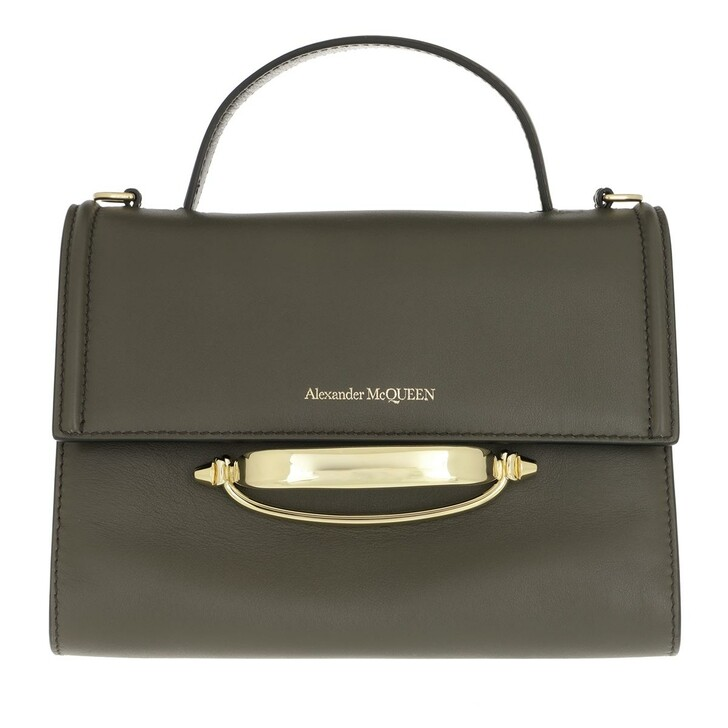 bags, Alexander McQueen, The Story Crossbody Bag Khaki