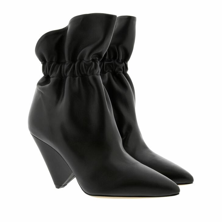 Schuh, Isabel Marant, Isabel Marant Ankle Boots Leather Black