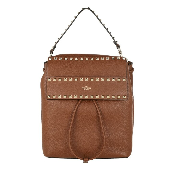 bags, Valentino Garavani, Rockstud Backpack Calf Selleria