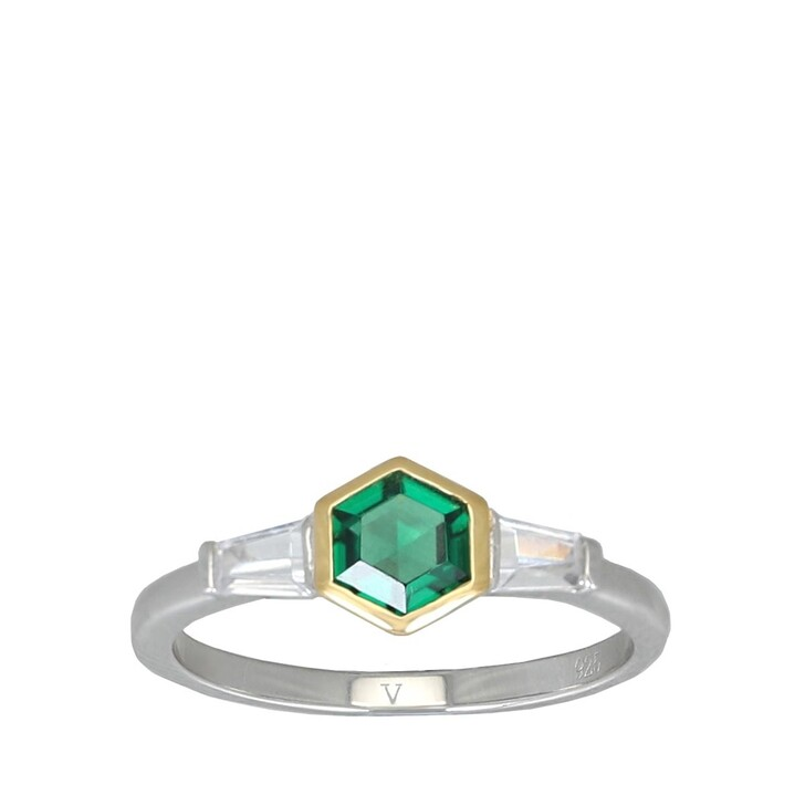 Ring, V by Laura Vann, Darcy Ring  Bicolor