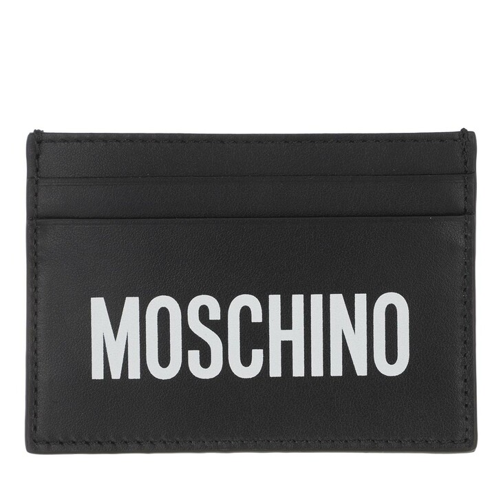 Geldbörse, Moschino, Wallet Black