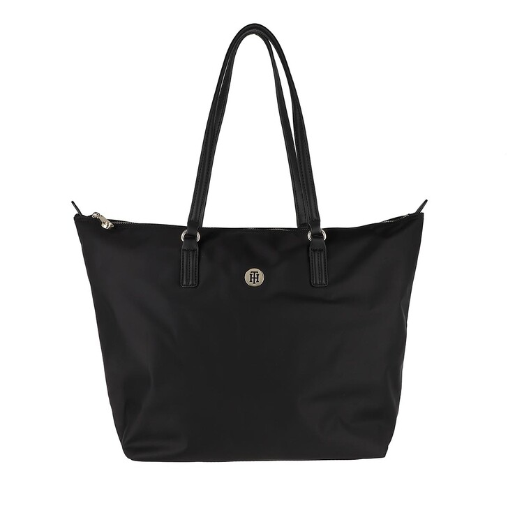 Handtasche, Tommy Hilfiger, Poppy Tote Bag Black