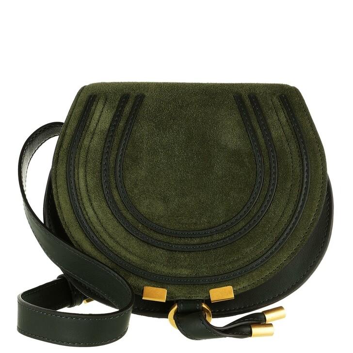bags, Chloé, Marcie Handle Bag Leather Verde
