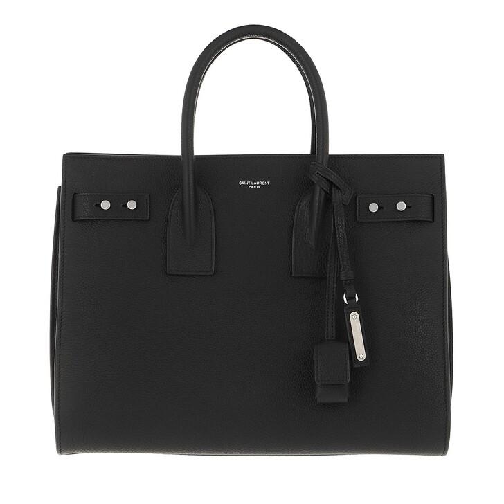 bags, Saint Laurent, Sac du Jour Tote Bag Nero