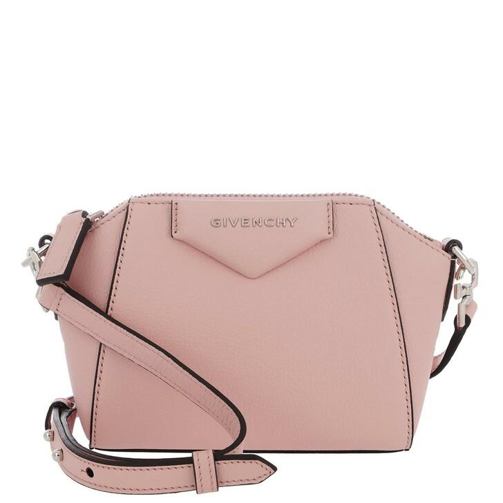 Handtasche, Givenchy, Nano Antigonia Crossbody Bag Goatskin Candy Pink