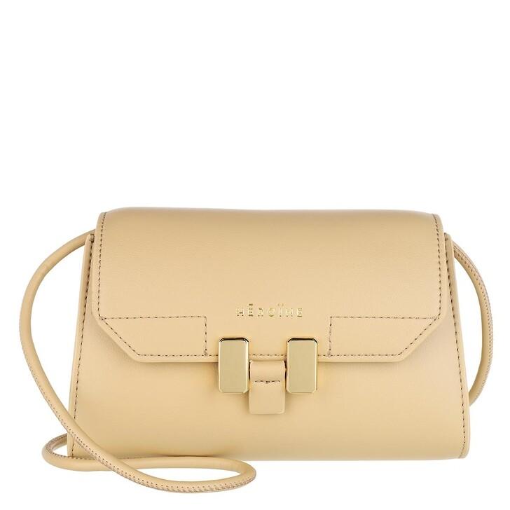 Handtasche, Maison Hēroïne, Lilia Nano Crossbody Bag Oyster