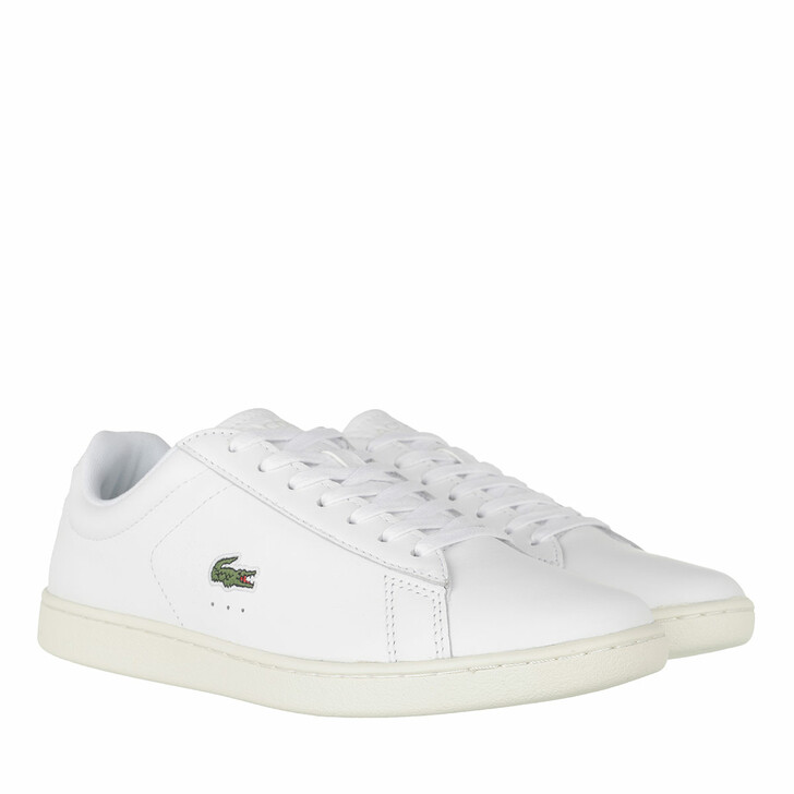Schuh, Lacoste, Carnaby Evo Sneaker White Off White