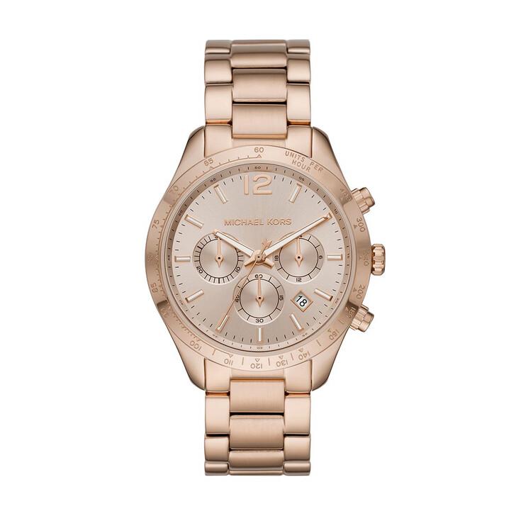 watches, Michael Kors, Layton Jetset Watch Rose Gold