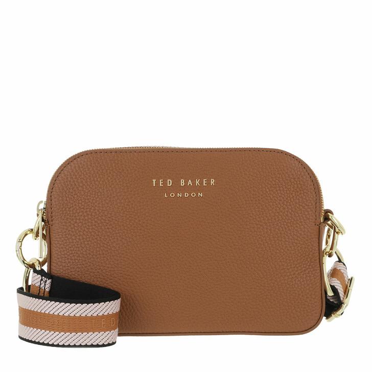 Handtasche, Ted Baker, Amerrah Branded Webbing Strap Camera Bag Brown