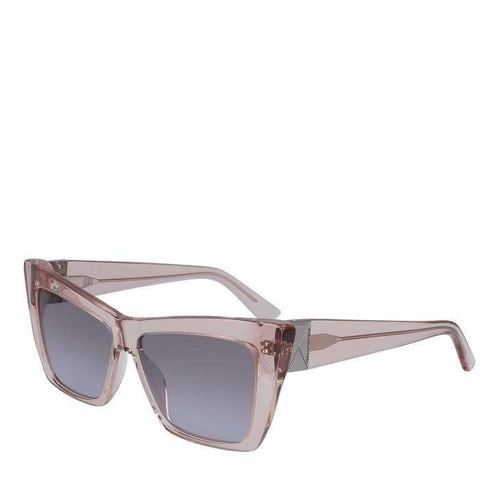 Sonnenbrille, Karl Lagerfeld, KL6011S ANTIQUE ROSE TRANSPARENT