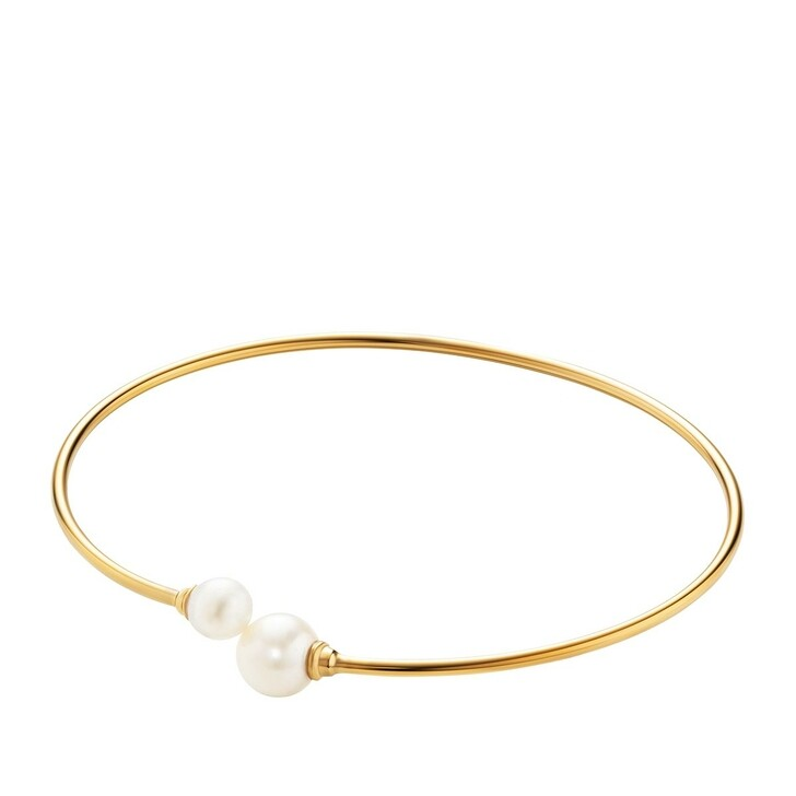 Armreif, BELORO, Bracelet Pearls Cuff Gold-Plated