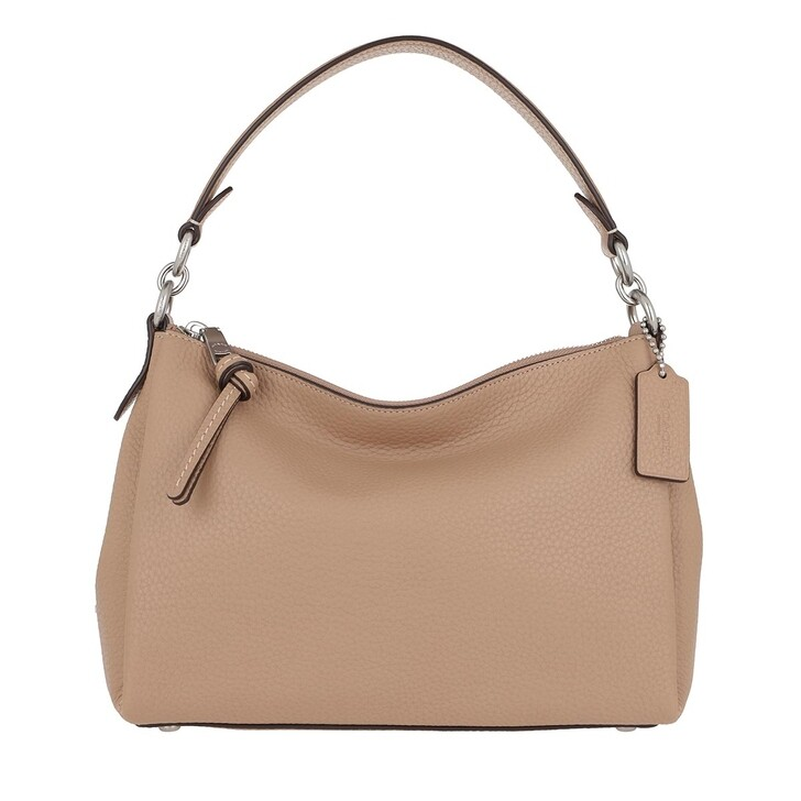 Handtasche, Coach, Soft Pebble Leather Shay Crossbody Lh/Taupe