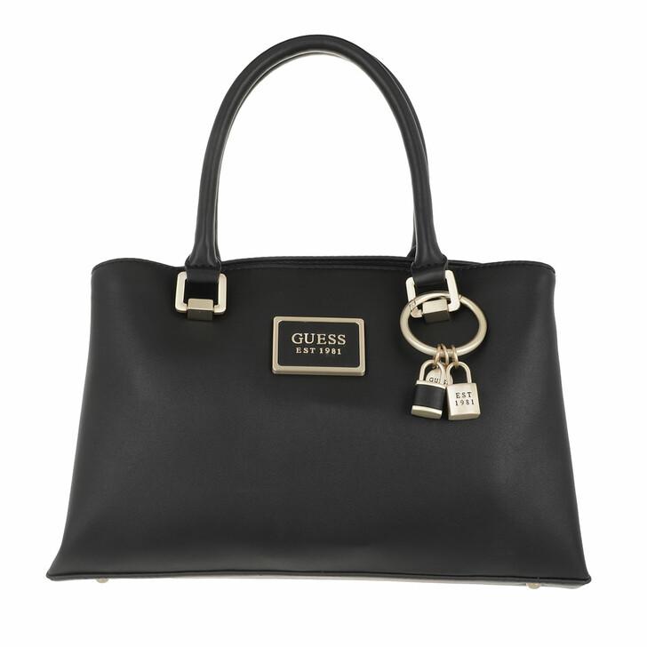Handtasche, Guess, Tyren Girlfriend Satchel Black