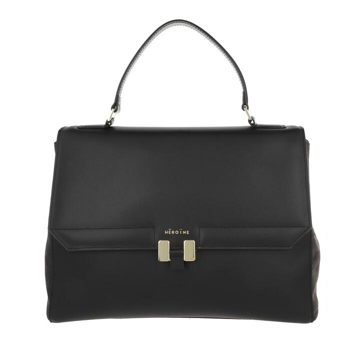 bags, Maison Hēroïne, Audrey 13'' Handle Bag Black