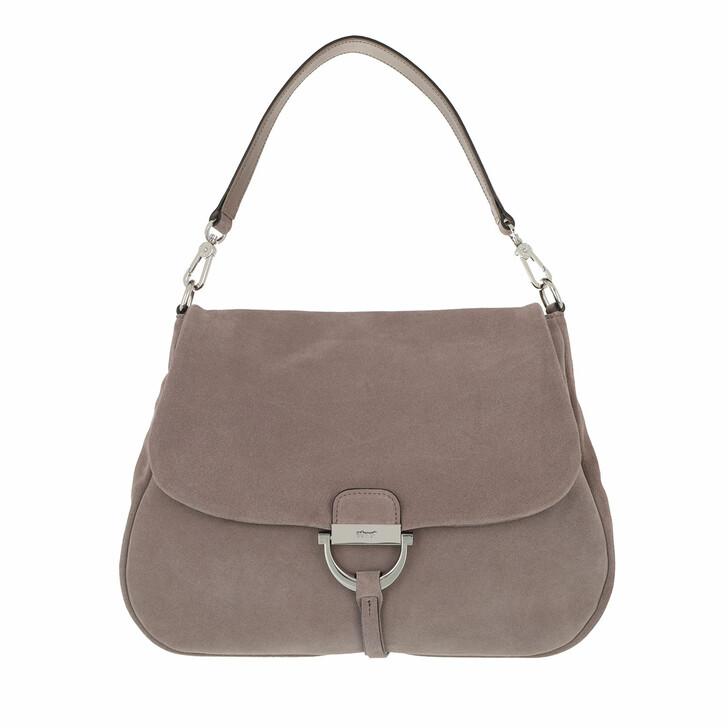 Handtasche, Abro, Shoulder Bag Temi Max Taupe