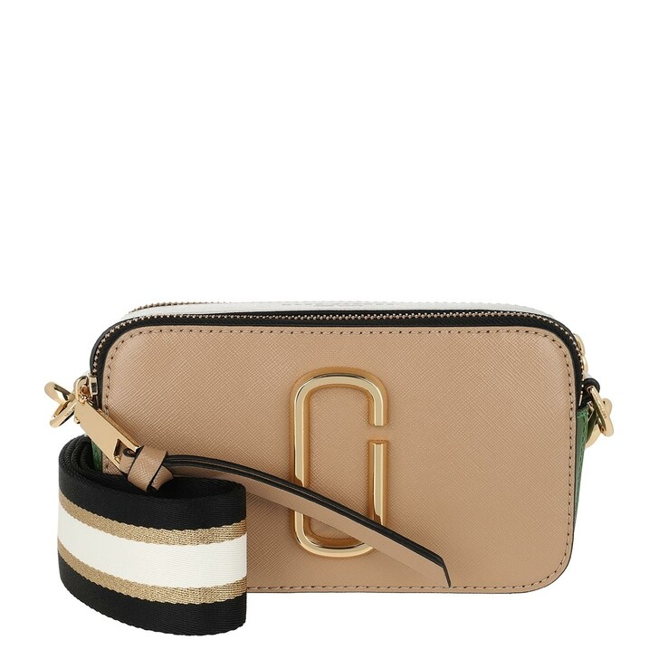 Handtasche, Marc Jacobs, Snapshot Small Camera Bag Sandcastle/Multi