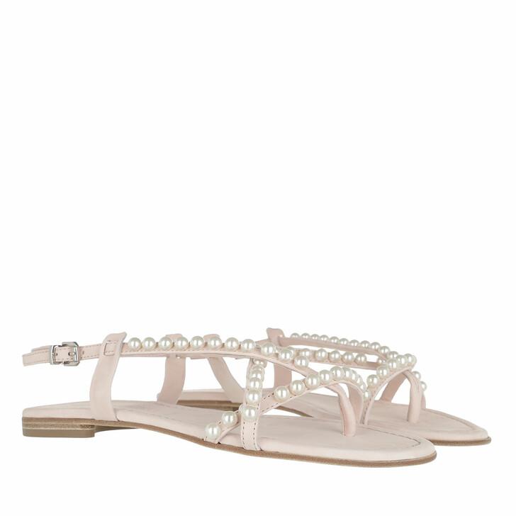 Schuh, Kennel & Schmenger, Elle Sandals Soft Nubuk baby rose/pearl