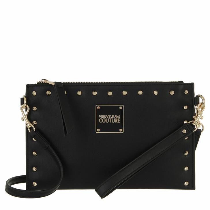 bags, Versace Jeans Couture, Pouch Bag Black