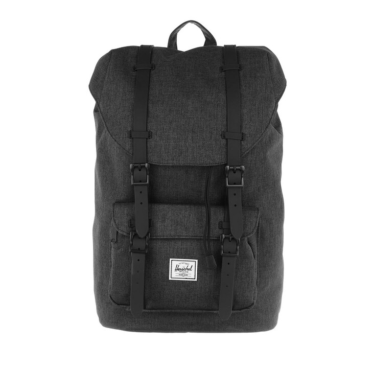 bags, Herschel, Little America Mid-Volume Backpack Black