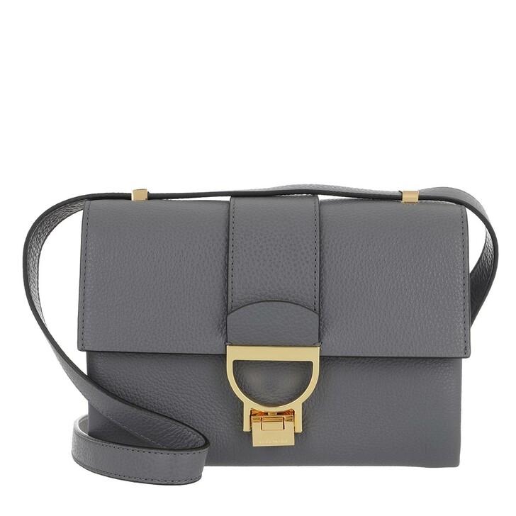 Handtasche, Coccinelle, Handbag Grainy Leather Ash Grey
