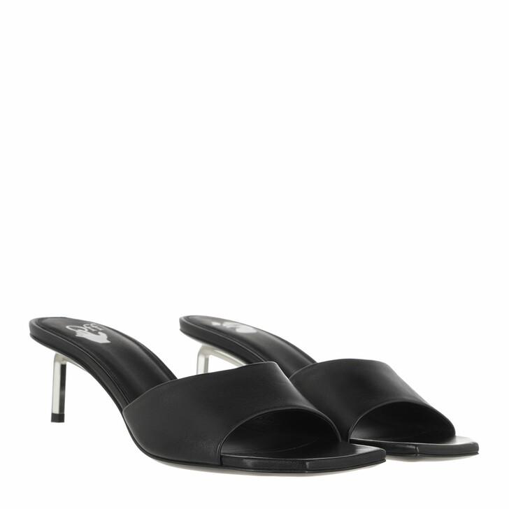 shoes, Off-White, Open Toe Allen Mule  Black