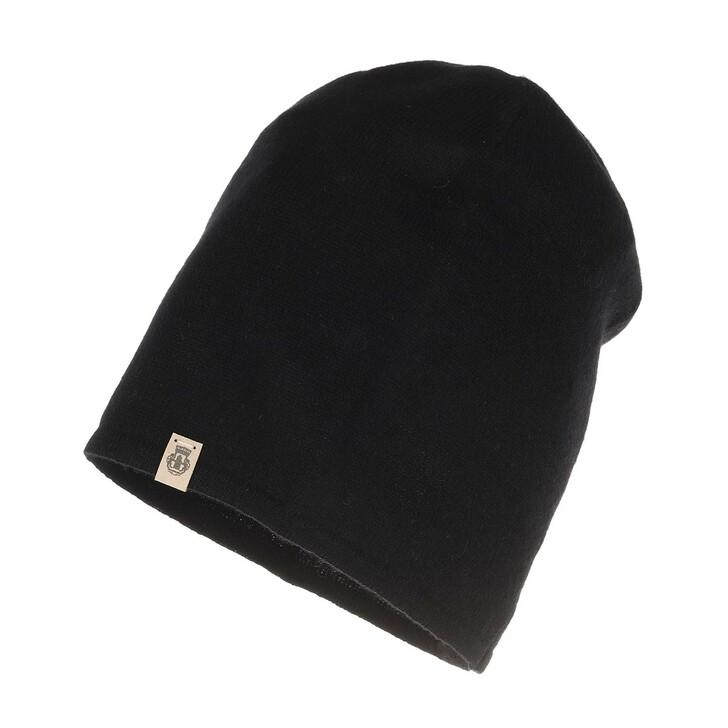 Mütze, Roeckl, Pure Cashmere Hat Black