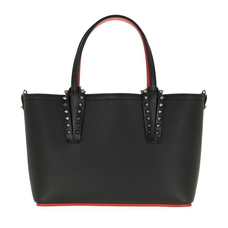 Handtasche, Christian Louboutin, Mini Tote Bag Leather Black