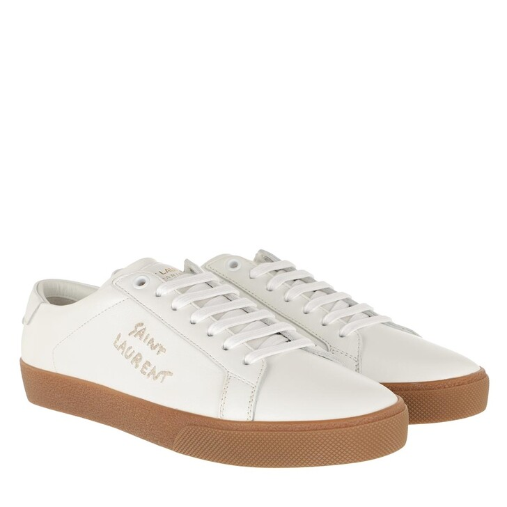 Schuh, Saint Laurent, Court Classic Sneakers Optic White