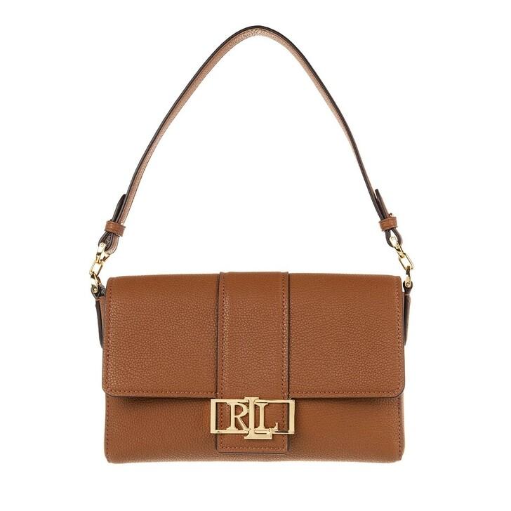 Handtasche, Lauren Ralph Lauren, Spencer 25 Shoulder Medium Lauren Tan