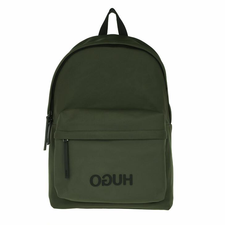Reisetasche, Hugo, Record Backpack Dark Green