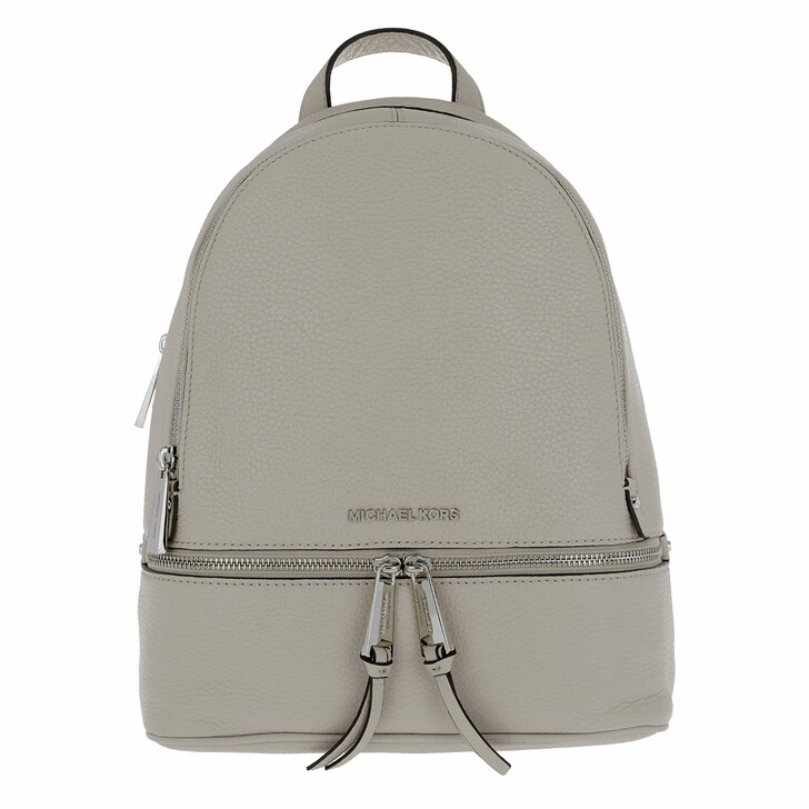 Reisetasche, MICHAEL Michael Kors, Rhea Zip MD Backpack Pearl Grey