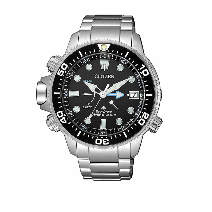Uhr, Citizen, Promaster Wristwatch Silver Black