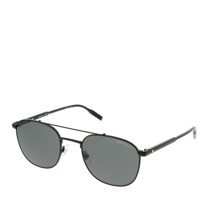 Sonnenbrille, Montblanc, MB0114S-001 54 Sunglass MAN METAL Black