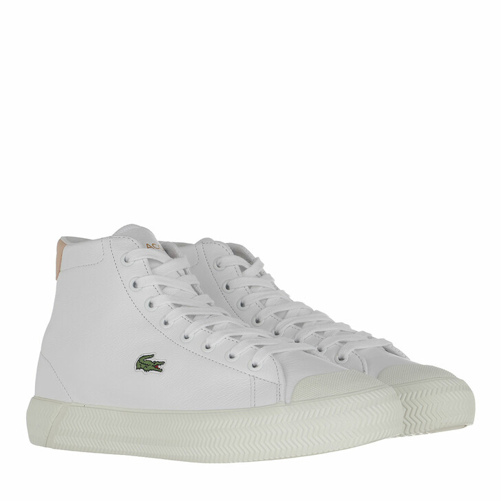 Schuh, Lacoste, Gripshot Mid Sneaker Shoes White/Natural