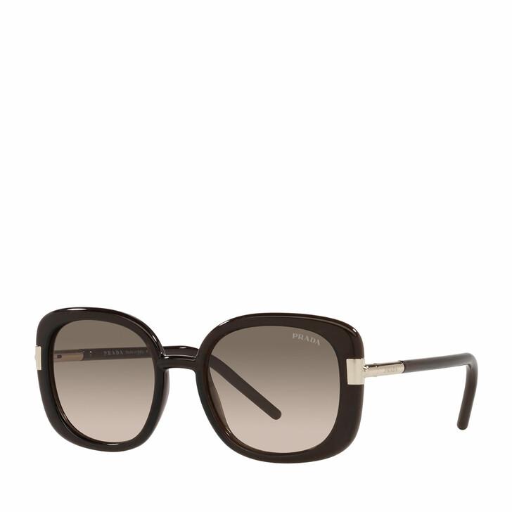 Sonnenbrille, Prada, 0PR 04WS DARK BROWN CRYSTAL