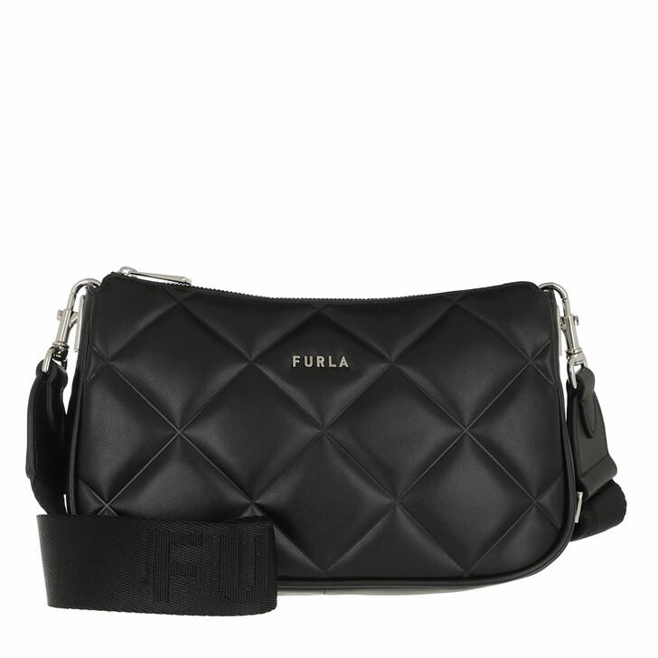 bags, Furla, Furla Moon S Shoulder Bag Nero