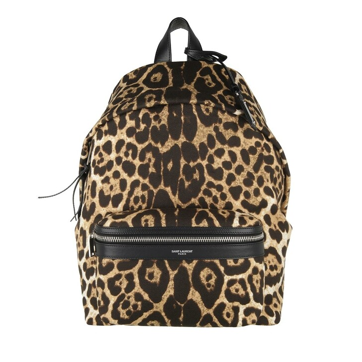 Reisetasche, Saint Laurent, Backpack Leo Natural