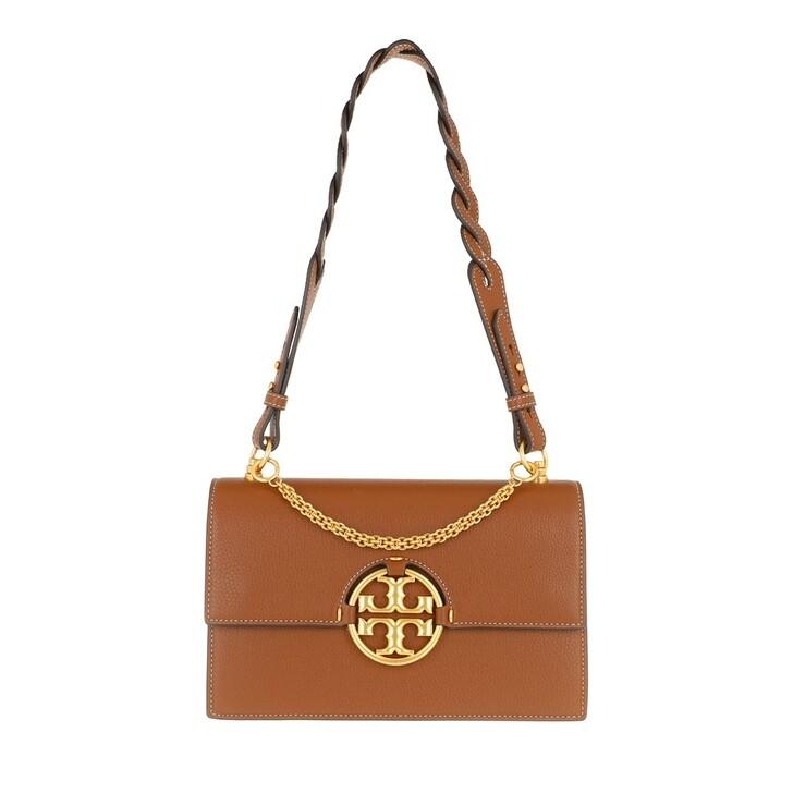 Handtasche, Tory Burch, Miller Shoulder Bag Light Umber