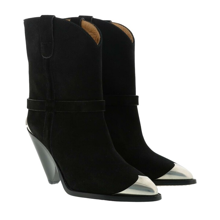 Schuh, Isabel Marant, Iconic Ankle Boots Leather Black