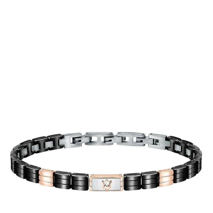 Armreif, Maserati, JM221ATZ05 Bracelet Ceramic Black/Rose