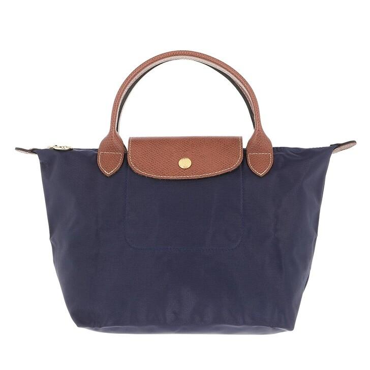 bags, Longchamp, Le Pliage Original Handbag   Navy