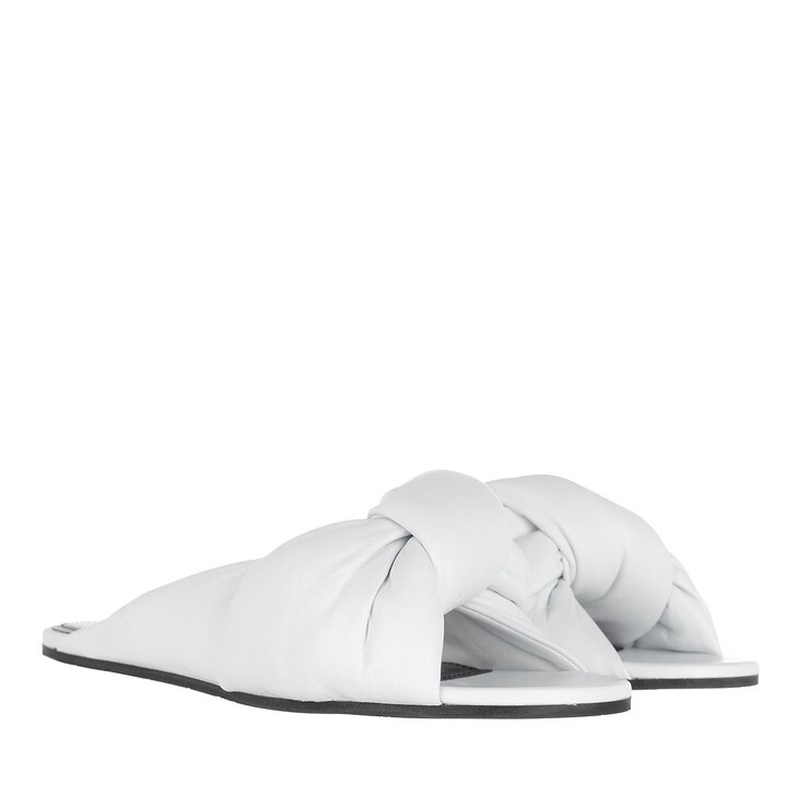 Schuh, Balenciaga, Drapy Sandal Optical White