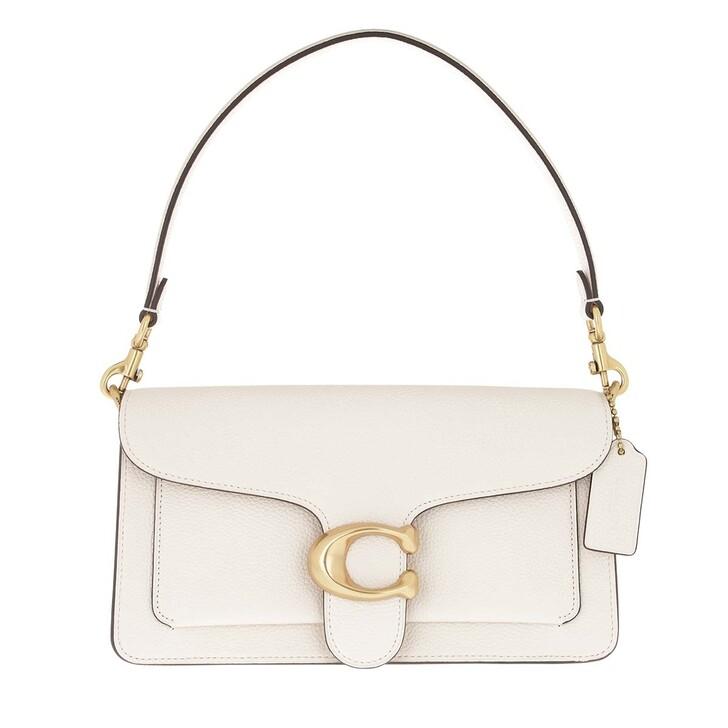 Handtasche, Coach, Polished Pebble Leather Tabby Shoulder Bag 26 Chalk 2